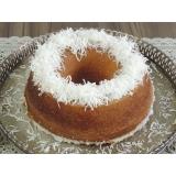 bolo caseiro artesanal preço Região Central
