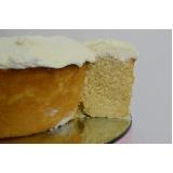 bolo caseiro para aniversário preço Santa Cecília