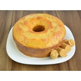bolo caseiro para festa Santa Efigênia