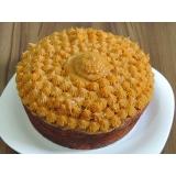 bolo caseiro simples para aniversário Cambuci