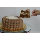 bolo confeitado mesclado orçamento Vila Buarque