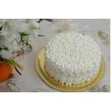 bolos confeitados redondo simples Cambuci