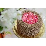 bolos confeitados simples redondo Consolação