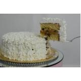 orçamento de bolo confeitado liso Aclimação
