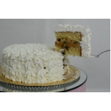 orçamento de bolo confeitado mesclado Cambuci