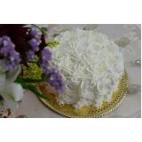 orçamento de bolo confeitado simples redondo Trianon Masp